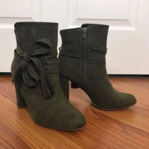 Above the ankle boots